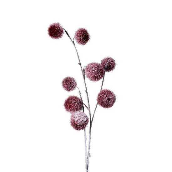 Изображение Ветка искусственная WINTERGREEN Бордовый L:80 см. 10216116