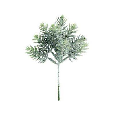 Изображение Ветка искусственная WINTERGREEN Зеленый L:17 см. 10216117