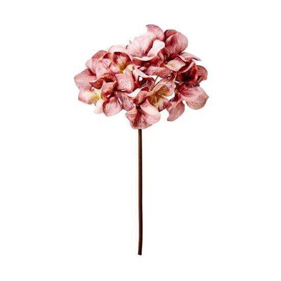 Изображение Гортензия искусственная WINTERGREEN Розовый в сочетании H:77 см. 10216121