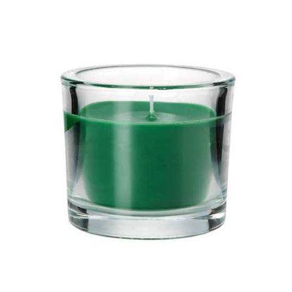 Зображення Свічка SCENTS Зелений H:8 см. 10216233