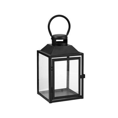 Зображення Ліхтар LIGHTHOUSE Чорний 17.5х16.5х33 см. 10216243
