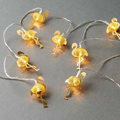 Зображення Гірлянда декоративна MIAMI Золотий L:165 см. 10216304