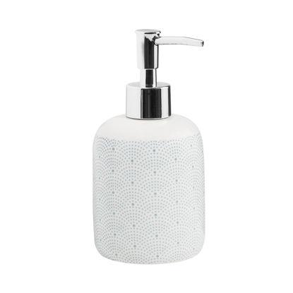 Зображення Диспенсер для мила SOAP STARS Білий H:16.5 см. 10216311
