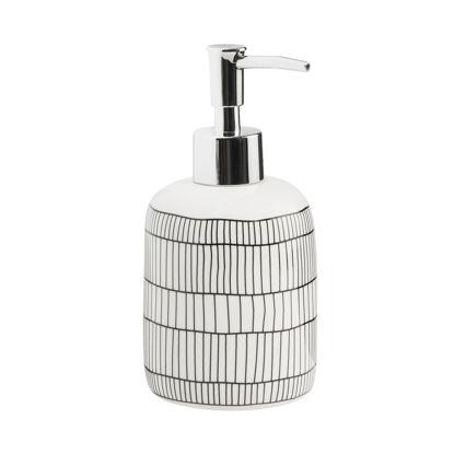 Изображение Диспенсер для мыла SOAP STARS Белый в сочетании H:16.5 см. 10216332
