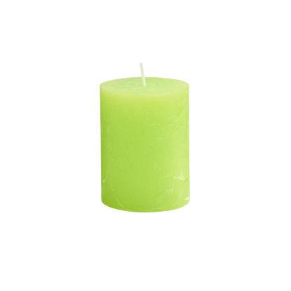 Изображение Свечка RUSTIC Зеленый H:9 см. 10216343