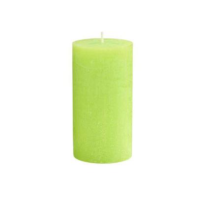 Зображення Свічка RUSTIC Зелений H:13 см. 10216357