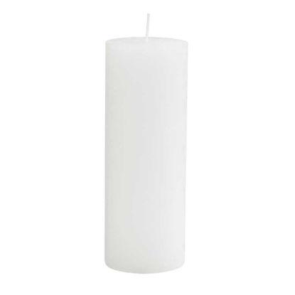 Зображення Свічка RUSTIC Білий H:19 см. 10216361
