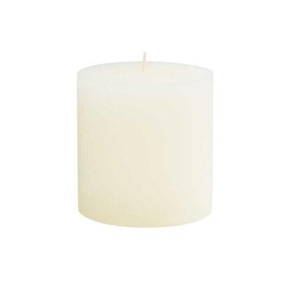 Зображення Свічка RUSTIC Білий H:10 см. 10216375
