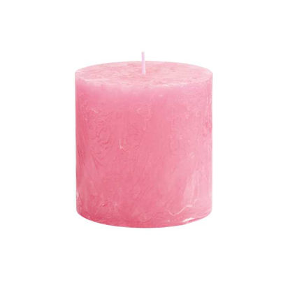 Изображение Свеча RUSTIC Розовый H:10 см. 10216406