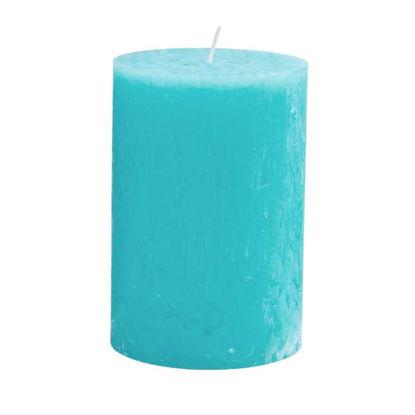 Зображення Свічка RUSTIC Блакитний H:15 см. 10216427