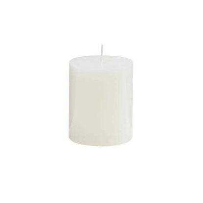 Зображення Свічка GLAZE Білий H:8 см. 10216431