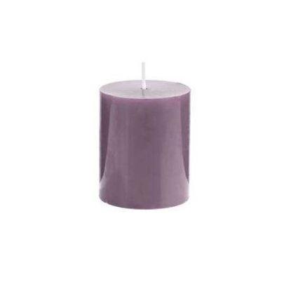 Зображення Свічка GLAZE Бузковий H:8 см. 10216435