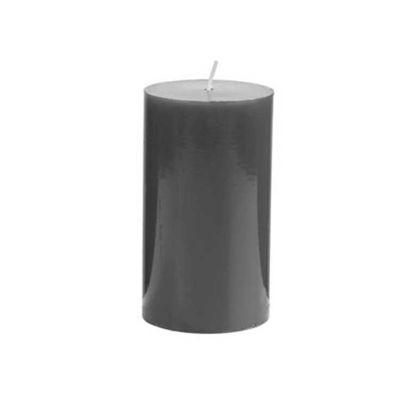 Зображення Свічка GLAZE Чорний H:12 см. 10216476