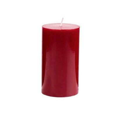 Зображення Свічка GLAZE Червоний H:12 см. 10216479