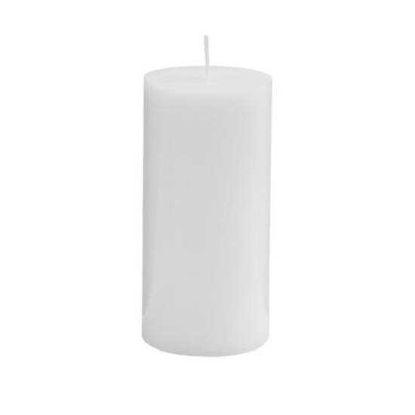 Зображення Свічка GLAZE Білий H:15 см. 10216481