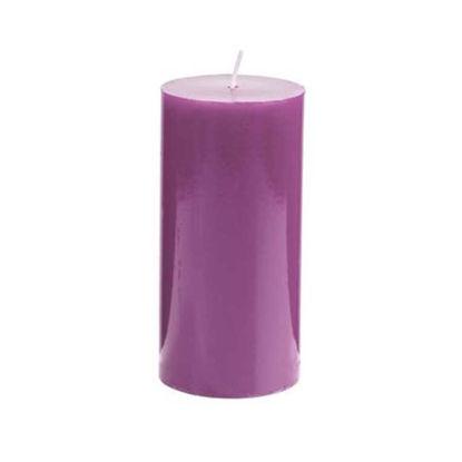 Зображення Свічка GLAZE Бузковий в поєднанні H:15 см. 10216488