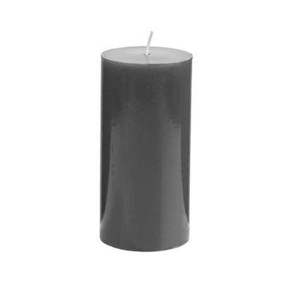 Зображення Свічка GLAZE Чорний H:15 см. 10216501