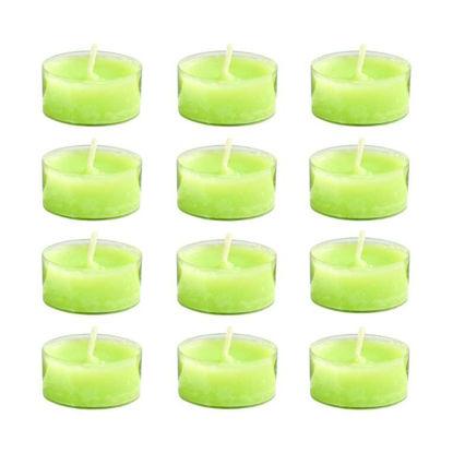 Зображення Свічка COULEURS Зелений H:2 см. 10216518