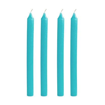 Зображення Свічка COULEURS Блакитний в поєднанні H:30 см. 10216528