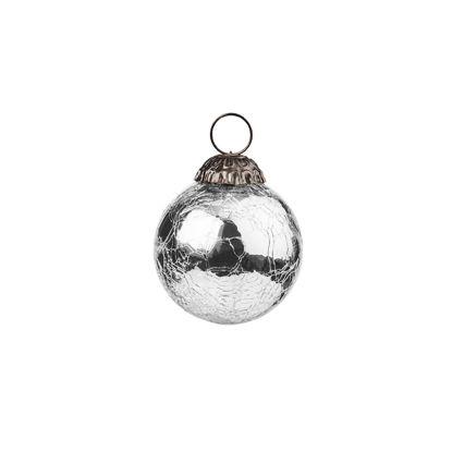 Зображення Кулька ялинкова HANG ON Срібний O:6 см. 10216634
