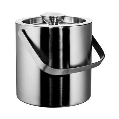 Зображення Відро для охолодження шампанського ON ICE Срібний H:16 см. 10216665
