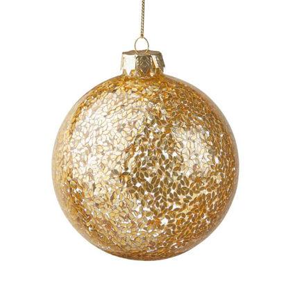 Зображення Кулька ялинкова HANG ON Золотий O:10 см. 10216716