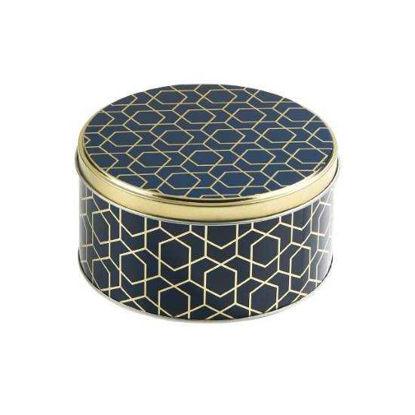 Изображение Коробка для хранения COOKIE JAR Золотой в сочетании O:13.5 см. 10216844