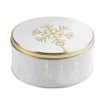 Изображение Коробка для хранения COOKIE JAR Белый в сочетании O:16.7 см. 10216846