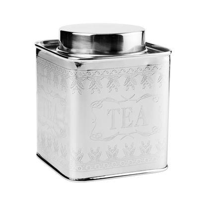 Зображення Ємність для зберігання чаю MISS SOPHIE Срібний H:14.5 см. 10216945