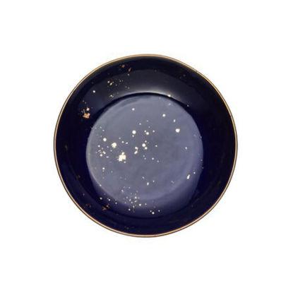 Изображение Тарелка GOLDEN GLAZE Голубой O:21.5 см. 10216970