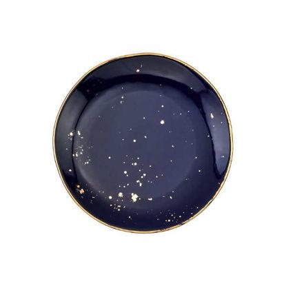 Изображение Тарелка GOLDEN GLAZE Золотой в сочетании O:20.5 см. 10216974