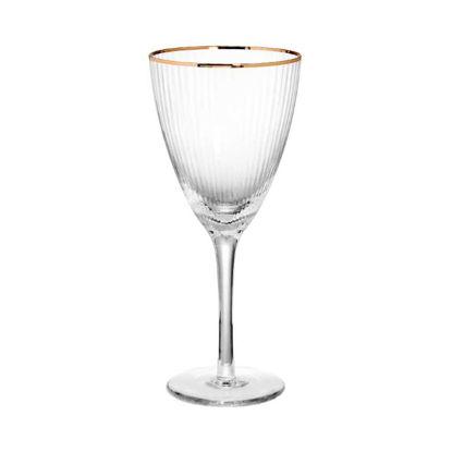 Зображення Келих для вина GOLDEN TWENTIES Прозорий в поєднанні V:270 мл. 10216981
