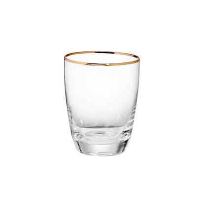 Зображення Склянка GOLDEN TWENTIES Прозорий в поєднанні V:300 мл. 10216982