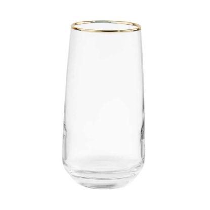 Зображення Склянка TOUCH OF GOLD Прозорий в поєднанні V:480 мл. 10217066
