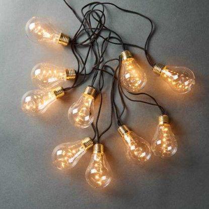 Зображення Гірлянда BULB LIGHTS Прозорий в поєднанні L:360 см. 10217309