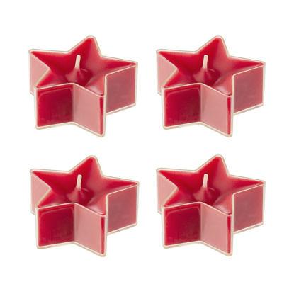 Зображення Свічки у вигляді зірки STARLIGHT Червоний в поєднанні 1.6 см. 10217322