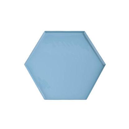 Зображення Підсвічник EMILIE Блакитний 39х34х1.5 см. 10217333