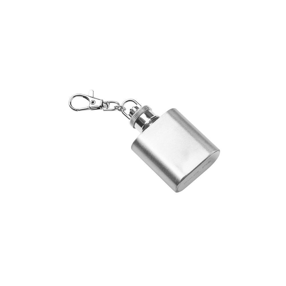 Зображення Брелок MINI FLASK Срібний H:7 см. 10217438