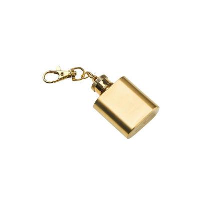 Изображение Брелок MINI FLASK Золотой H:7 см. 10217451