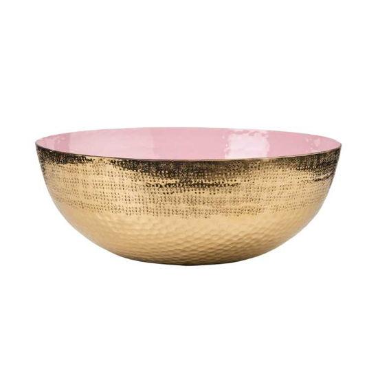 Изображение Блюдо декоративное EMILIE Золотой в сочетании O:34 см. 10217588