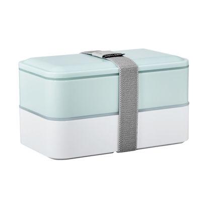 Изображение Коробка для ланча со столовыми приборами SNACK PACK Белый в сочетании 18.5х10.5х10 см. 10217631