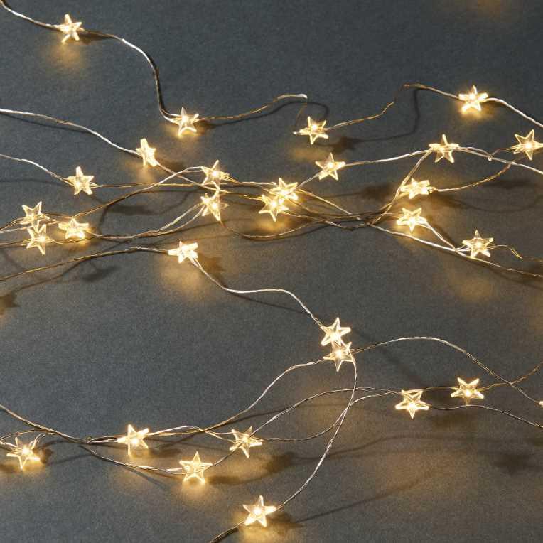 Зображення Гірлянда STAR LIGHTS Золотий L:1000 см. 10217639