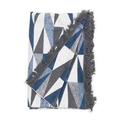 Зображення Покривало постільне MACIO Синій в поєднанні 150х200 см. 10217646