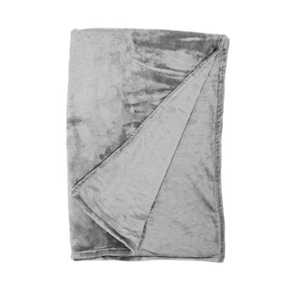 Зображення Покривало постільне LAZY DAYS Сірий 200x150 см. L:200 см. 10217661