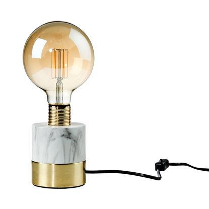 Изображение Лампа настольная STILO Серый O:9 см. H:14 см. L:1.8 м. 10217785