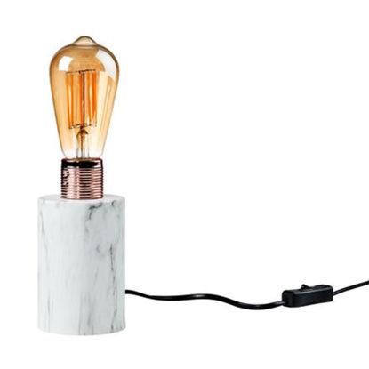 Зображення Лампа настільна STILO Білий H:16 см. 10217786