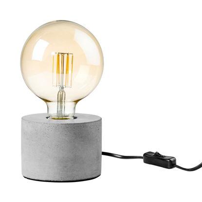 Изображение Лампа настольная STILO Серый O:13 см. H:9 см. L:1.8 м. 10217788