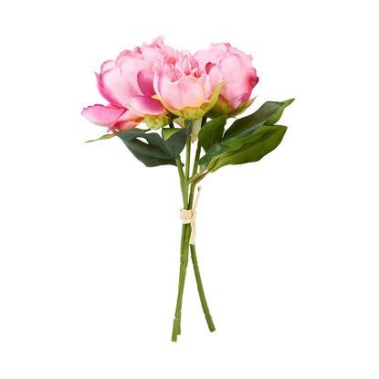 Изображение Цветок искусственный FLORISTA Розовый O:10 см. H:25 см. 10217873