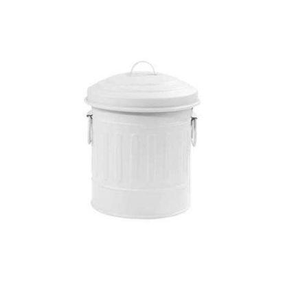 Зображення Відро для сміття LITTLE OSCAR Білий V:1000 мл. 10217941