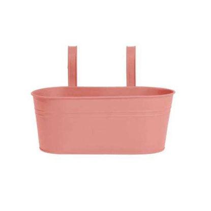 Изображение Ведерко подвесное ZINC Розовый 33х15.5х14 см. O:33 см. 10217982
